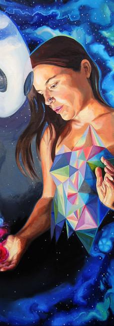 Quantum Healing Visions (self portrait)