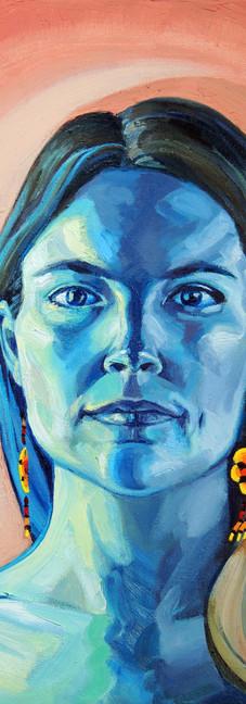 Peyote Woman (self portrait)