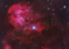 running chicken nebula singapore astronomy astrophotography stars