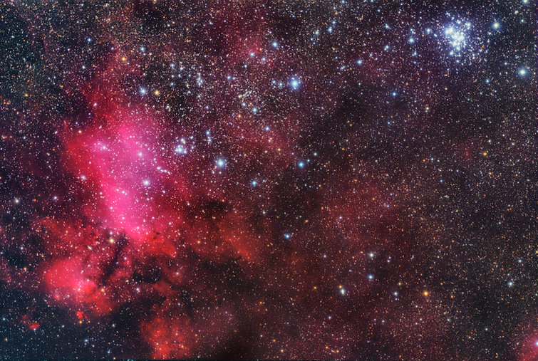 prawn nebula astronomy singapore astrophotography
