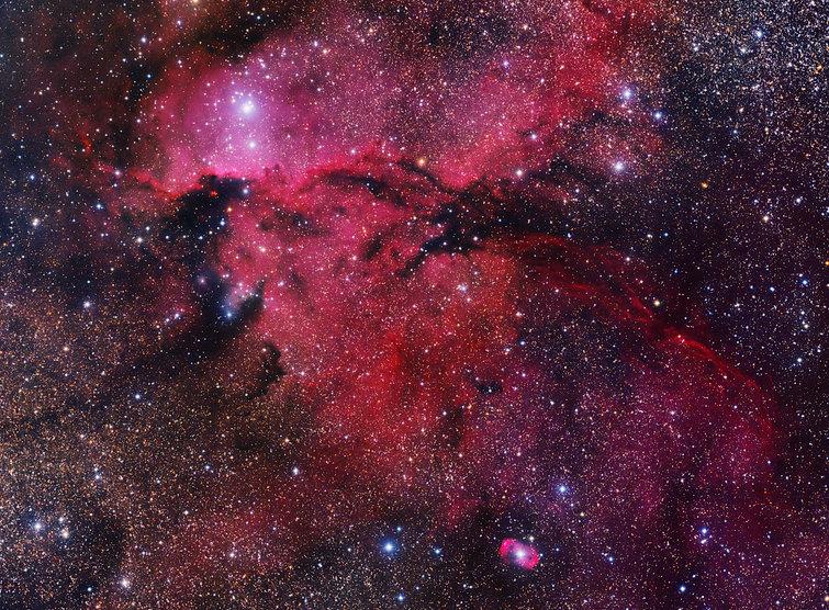 rim nebula astronomy singapore astrophotography