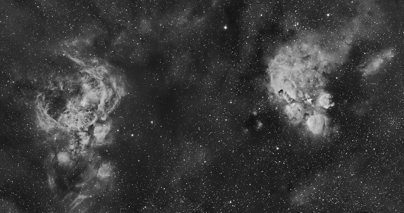 cats paw lobster nebula astrophotography astronomy singapore