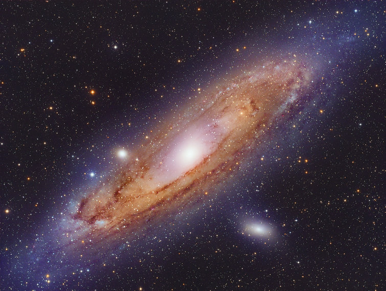 andromeda galaxy astronomy singapore astrophotography
