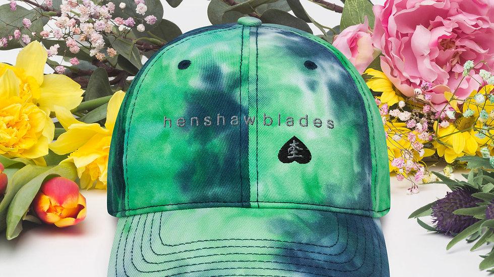 Summer Tie dye Henshaw Blades hat