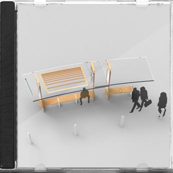 'Framework' - Bus Stop