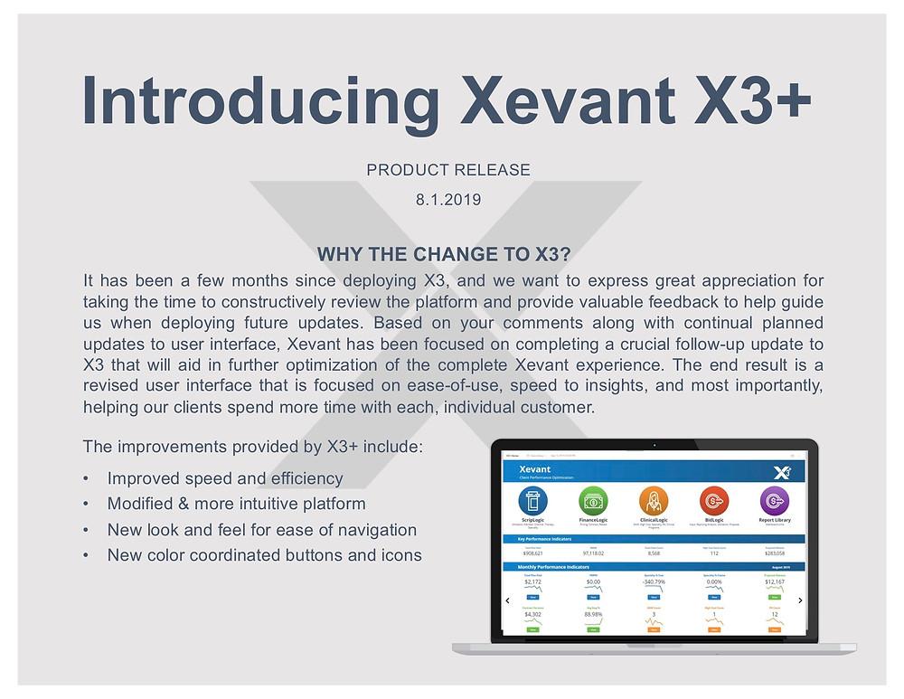 Xevant X3+