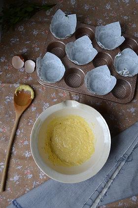 Flat Rim, Stoneware Mixing Bowl