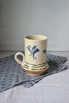 Stoneware, Tall Mug