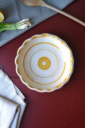 Scalloped Wheatland Bowl