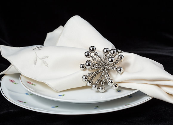 Flower Design Napkin Ring
