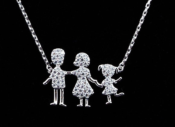 Necklace Family of 3