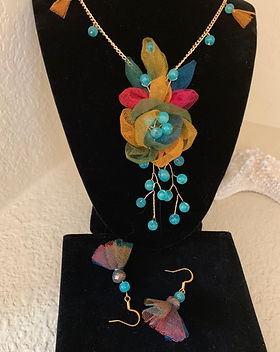 Beautiful Handmade Necklace and Earings