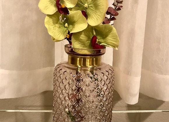 Brass Rimmed Vase