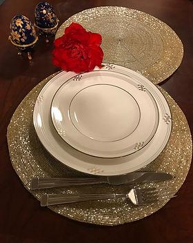 Elegant Dinner Set