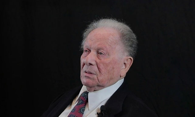Holocaust Survivor Talk: Ernest Weiss