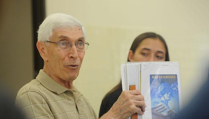 Holocaust Survivor Talk: Harry Davids