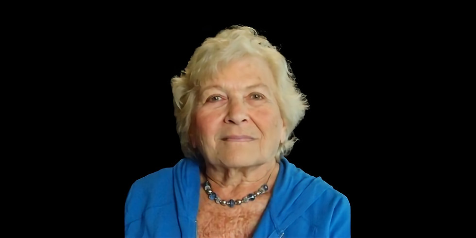 Holocaust Survivor Talk: Ruth Birndorf