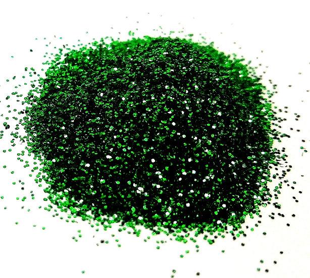 GREEN GLITTER DUST 2G.