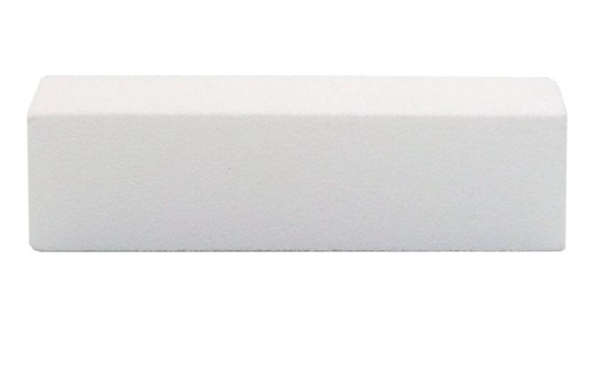 WHITE BLOCK ABRASIVE FOAM FILE 100 GRIT