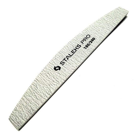 MINERAL NAIL FILE (CRESCENT) 180/240 grit