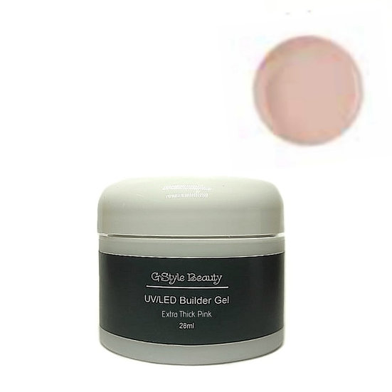 UV/LED EXTRA THICK BUILDER GEL COVER / PINK 28ML
