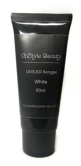 UV/LED ACRYGEL COVER / WHITE  60ML