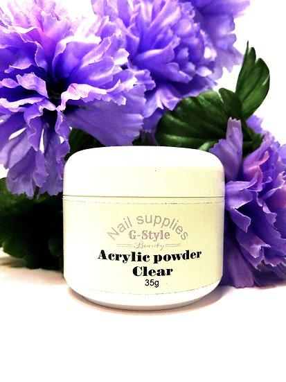 G-Style Beauty Acrylic Powder Clear 35g/70g