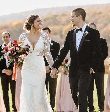 Tyler & Kelsey's Fall Nuptials