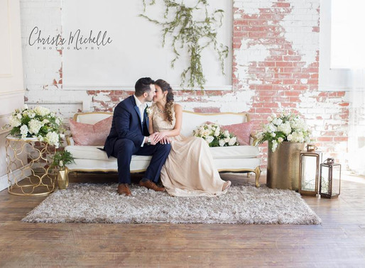 Vintage Romantic Wedding Styled Shoot