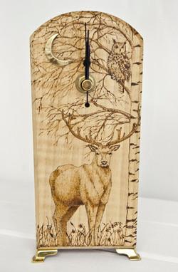 Deer Clock