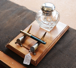 Ink bottle and Pen Stand