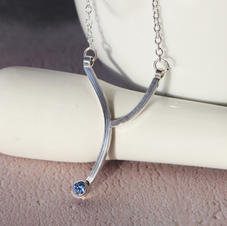Minimalist Silver Pendant