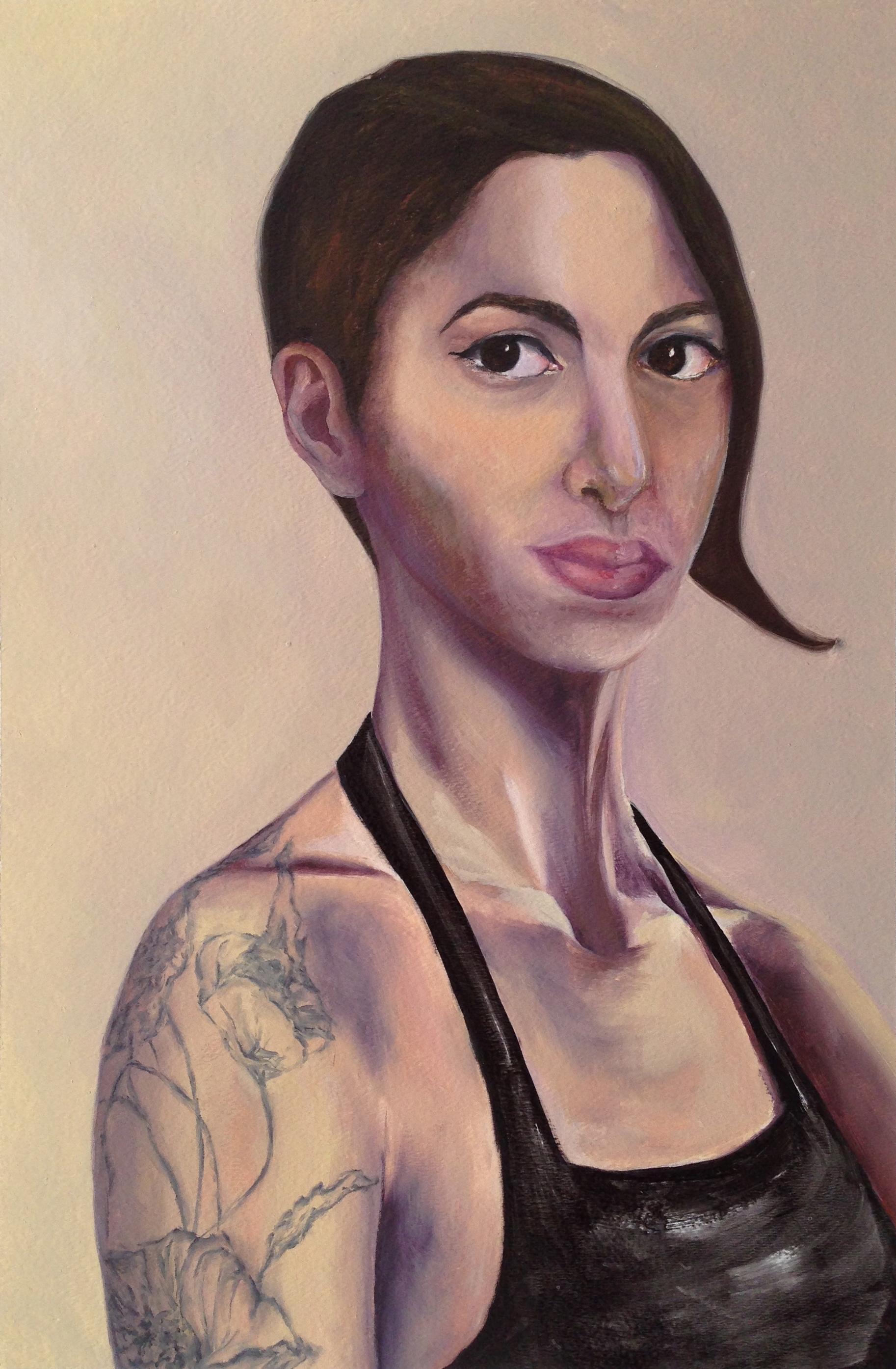 Self Portrait with Tattoo