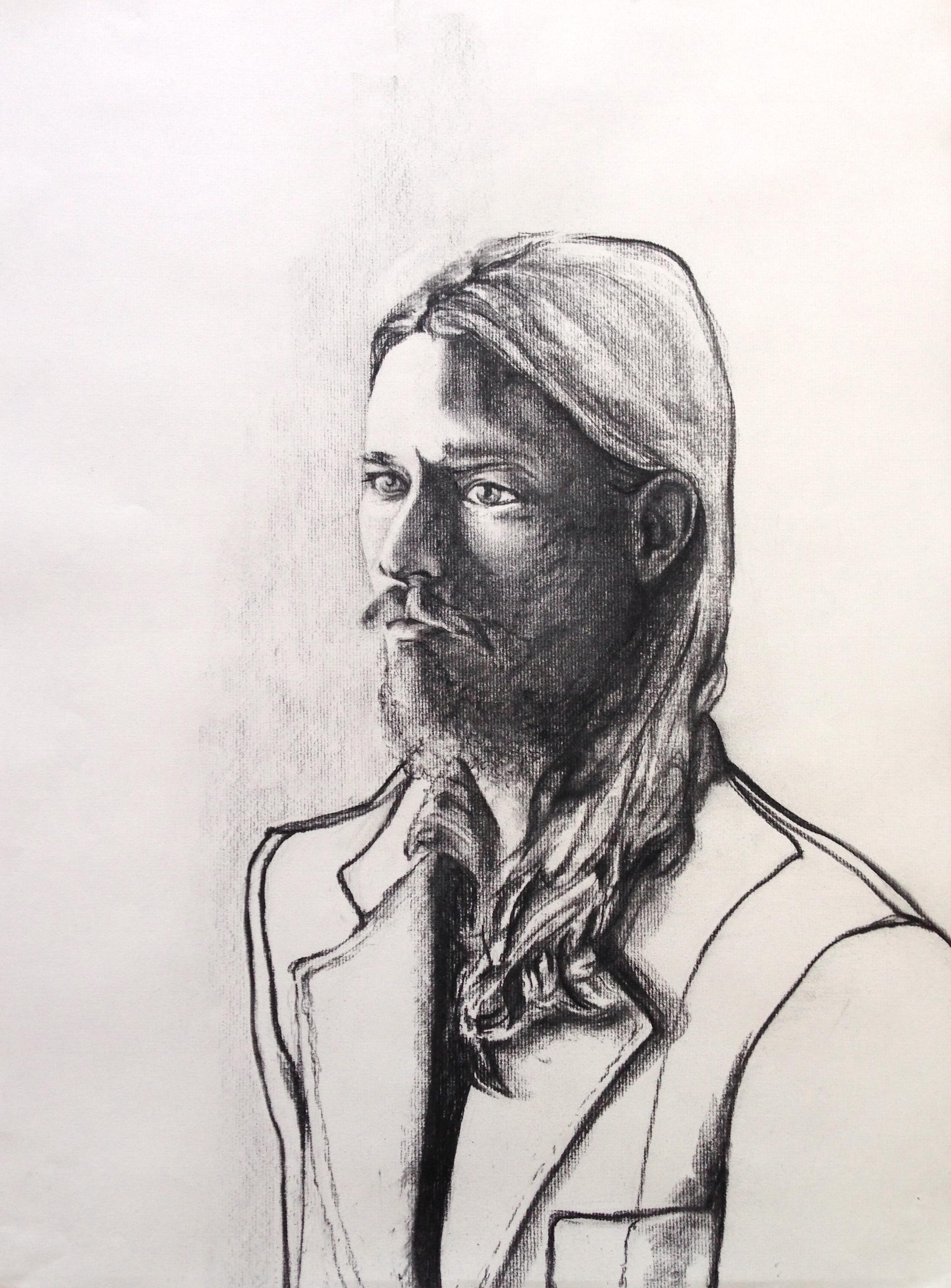Portrait with a Suit