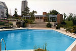 Architect Residential project with extensive landscaping, swimming pool, large lot area