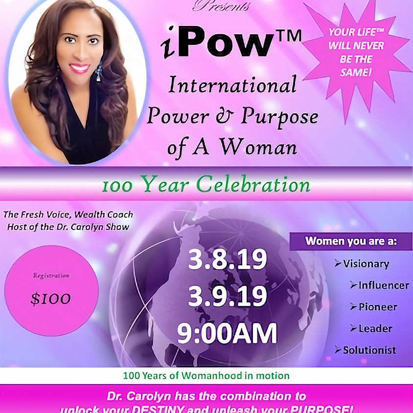 iPOW - International Power & Purpose of a Woman