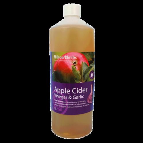 Apple Cider Vinegar with Garlic
