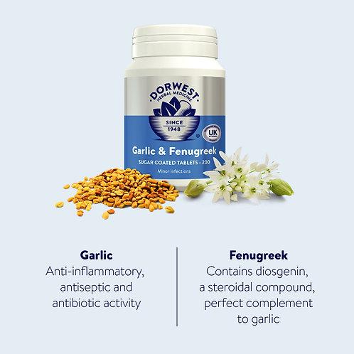 Garlic And Fenugreek Tablets
