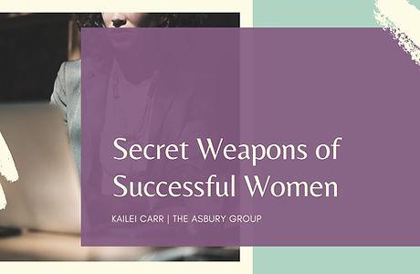 The Secret Weapons of Successful Women.j