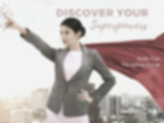 Discover Your Superpowers Website Image.