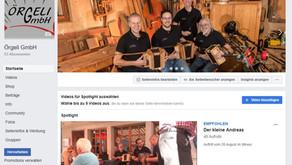 Örgeli GmbH auf Sozialen Medien