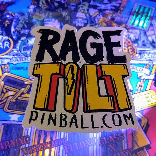 Rage Tilt Sticker