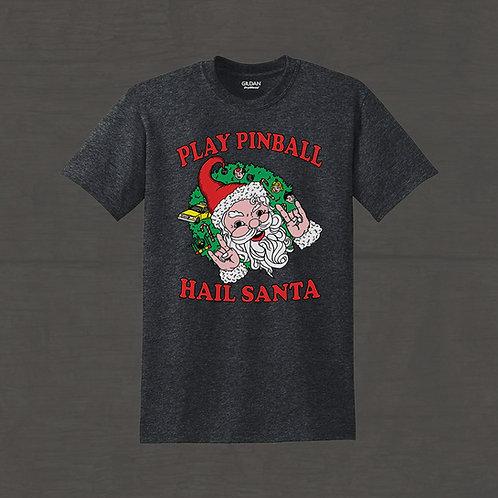 Play Pinball and Hail Santa