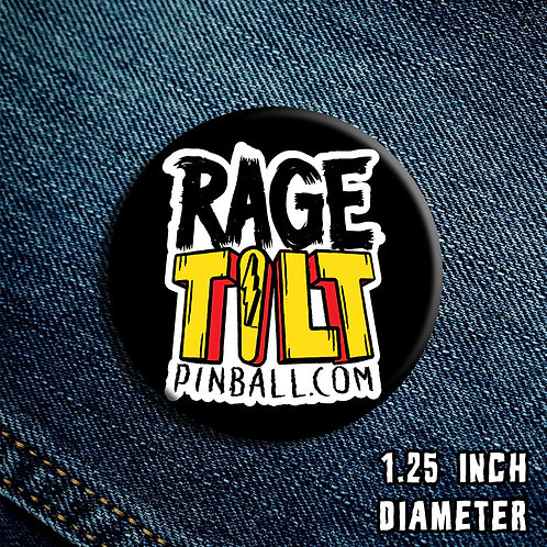 Rage Tilt Pinball Button