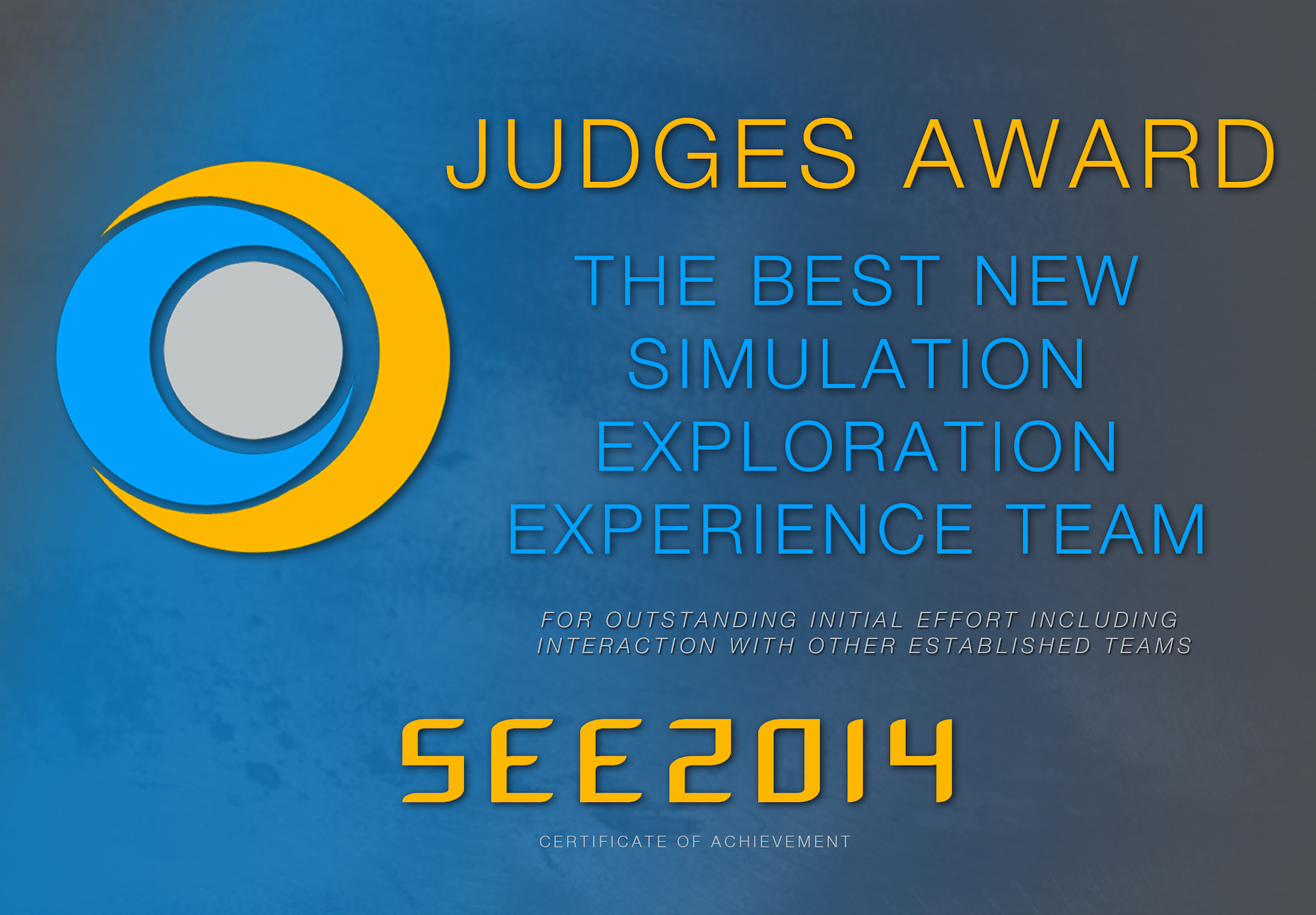 SEE 2014 Judges Award