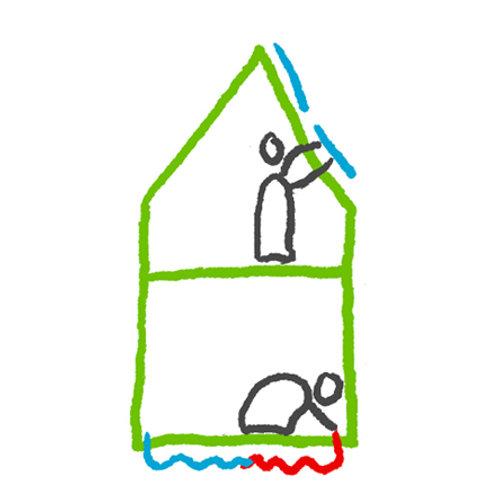 Duurzaamwoonplan voor identieke woningen op straat- of buurniveau