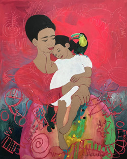Tenderness: Frida and Child