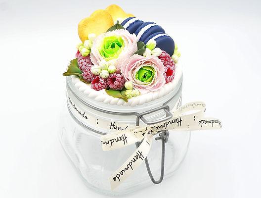 Cours Fimo - Caprice élégant - décoration printemps gourmand