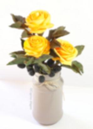 Cours Fimo Caprice élégant - Ma rose d'automne