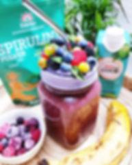 Somoothie jar - Fake foode art by Tania Villard Hirsig artiste Caprice élégant